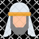 Arab Muslim Avatar Icon
