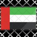 Arab Emirates International Nation Icon
