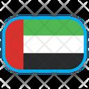 Arab Emirates Country Flag Icon