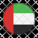 Arab Emirates International Global Icon
