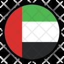 Arab Emirates Nation Country Icon