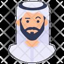 Arab Man Arab Sheikh Arabian Man Icon