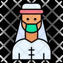 Arab Man Muslim Male Icon