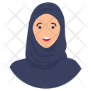 Arab Woman Arabian Woman Muslim Girl Icon