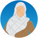 Arab Women Islamic Women Muslim Woman Icon