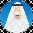 Arabian Muslim Kandura Icon