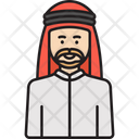 Arabian Man Icon