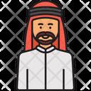 Arabian Man Man Avatar Icon
