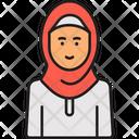Arabian Woman Muslim Lady Arab Woman Icon