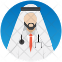 Arabic Doctor Doctor Arab Icon