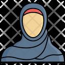 Arabic Hijab Woman Icon