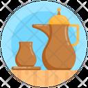 Arabic Coffee Pot Icon