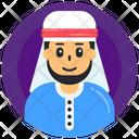 Arabic Boy Arabic Man Muslim Man Icon