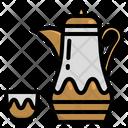 Arabic Tea Ramadan Islam Tea Pot Tea Drink Icon