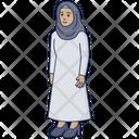 Arabic Woman Hijab Arabic Icon