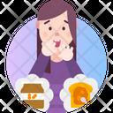 Arachibutyrophobia Fear Of Peanut Butter Icon