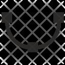 Arc Curve Geometry Icon