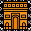 Arc De Triomphe France Monument Icon