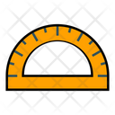 Arc Ruler Ruler Scale Icon