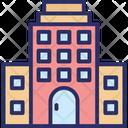 Arcade Building Commercial Building Icon