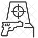 Arcade Game Gaming Machine Gun Game Icon