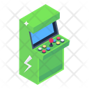Arcade Game Arcade Machine Coin Operated Game Icon
