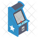 Arcade Joystick Machine Icon