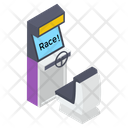 Arcade Racing Game Icon