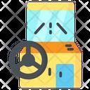 Arcade Wheel Car Arcade Game Icon