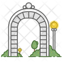 Arch Structure Construction Icon