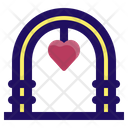 Arch Wedding Celebration Icon