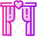 Valentine Day Arch Ceremony Icon