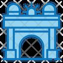 The Big Arch Of Victory Ballarat Vic Arch Building Icon