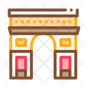 Gate Arch Saint Icon