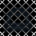 Line X Arch Gate Icon