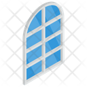 Arched Window Glass Window Clean Window Icon