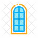 Arched Window Consisting Icon