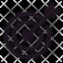 Archer Archery Arrow Icon