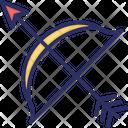 Arrow Bow Arc Icon