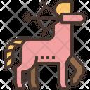 Archer Sagittarius Centaur Icon