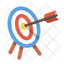 Aim Archery Bullseye Icon
