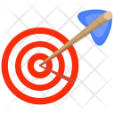 Archery Arrow Bullseye Icon