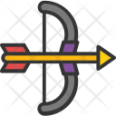 Archery Weapon Bow Icon