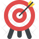 Target Achievement Dartboard Icon