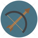 Archery Arrow Bow Icon