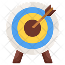 Archery Aim Objective Icon
