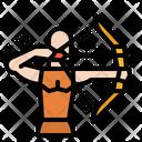 Archery Archer Bow Icon