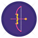 Archery Dartboard Arrow Icon