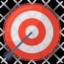 Archery Target Board Bullseye Icon