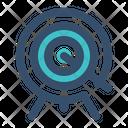 Archery Target Arrow Icon